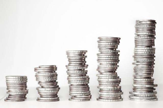 sloupky mincí